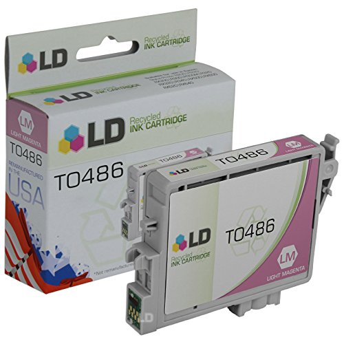 - LD Products Remanufactured Ink Cartridge Replacement for Epson T0486 ( Magenta )