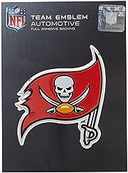 NFL Tampa Bay Buccaneers Die Cut Color Automobile Emblem, Team Color