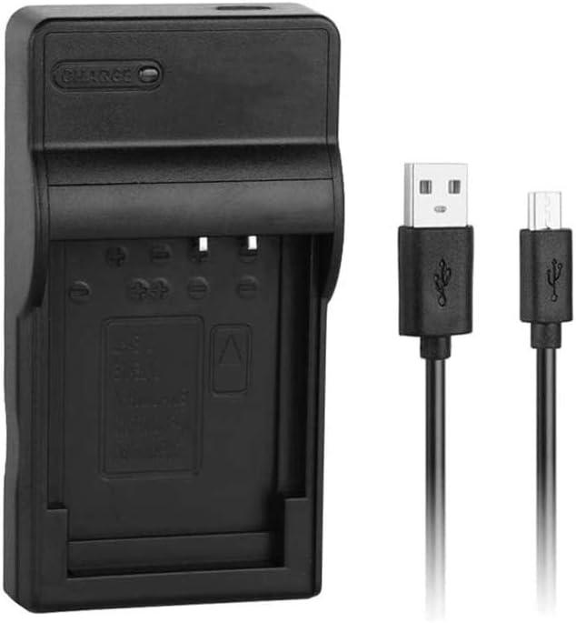 [Cargador rápido] EN-EL12 Cargador USB rápido para la batería Nikon ENEL12, Coolpix S9500, S9300, S9100, S8200, S6300, S6100, S6000, AW100, AW100s, S1200pj, S1000pj, S31, S70, S620, P310, P300