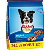 Kibbles 'n Bits Original Savory Beef & Chicken Flavors Bonus Bag Dry Dog Food, 34.1 Lb For Sale
