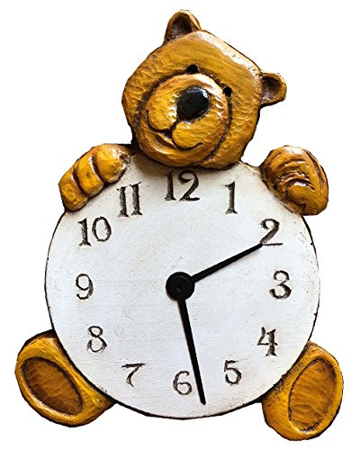 Piazza Pisano Teddy Bear Wall Clock ()