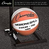 Champion Sports MBR1 Medicine Ball Tree Black, 14