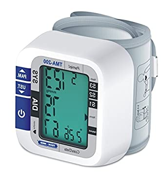 Techmed tma-200 Tensiómetro de muñeca calentador a voltaje presión sanguínea pulso: Amazon.es: Salud y cuidado personal