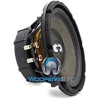 HD-800CF - CDT Audio 8 Carbon Fiber Cone Cast Alloy Audiophile Versabox Subwoofer HD800CF