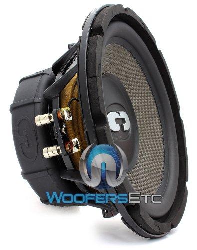 HD-800CF – CDT Audio 8″ Carbon Fiber Cone Cast Alloy Audiophile Versabox Subwoofer HD800CF