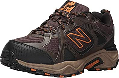 New Balance Men's 481V3 Water Resistant Cushioning Trail Running Shoe, Brown, 8.5 4E US