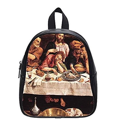 Amazoncom Hot Sale Last Supper Custom Kids School Backpack Bag