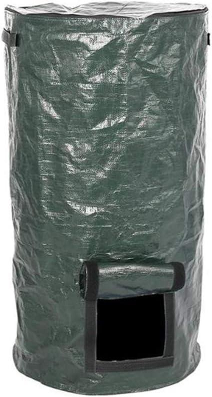 Bolsa De Compost,Papelera De Compostaje para JardíN, Bolsa De Compost Ambiental, Bolsas De Cultivo De Fermento OrgáNico Casero para JardíN, 45 * 80 Cm