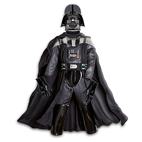 Disney Store Deluxe Darth Vader Costume for Boys Star Wars ~ XS 4