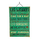 Imprints Plus There is Always Time for a Nap Inspirational Distressed Wood Sign, 12'' x 18'' Rustic Home Decor Plaque with Hanger Bundle 45-02017