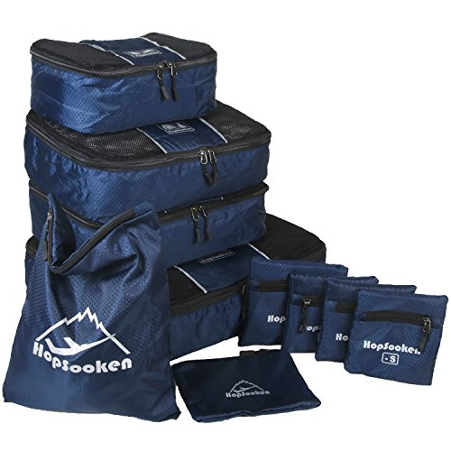 hopsooken-packing-cubes-sets-travel-luggage-organizers-4-cubes-6-laundry-pouches-10-pcs-darkblue
