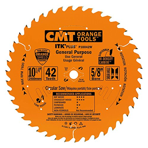 CMT P10042W ITK Plus General Purpose Saw Blade cutting kit with 10-1/4