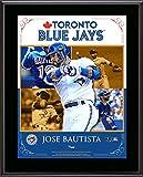 "Jose Bautista Toronto Blue Jays Sublimated 10.5"" x 13"" Composite Plaque - Fanatics Authentic Certified"