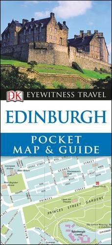 DK Eyewitness Pocket Map and Guide Edinburgh