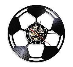 Reloj de Pared Balón de Fútbol Arte de La Pared Decoración para El ...