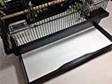 BirdCageLiners - Poly Coated - Medium Cages - Custom Size - 100 Pre-Cut Sheets