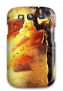 New Men Destroing A Car Tpu Case Cover, Anti-scratch LOXoLTZ3708dAgxn Phone Case For Galaxy S3