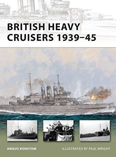 British Heavy Cruisers 1939–45 (New Vanguard) pdf epub