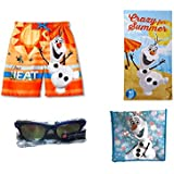 Disney Frozen Olaf Swim Trunks and Beach Accessories Set