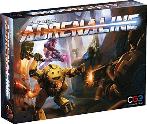 Czech Games Adrenaline Board Game [並行輸入品] B07SC5PNYT