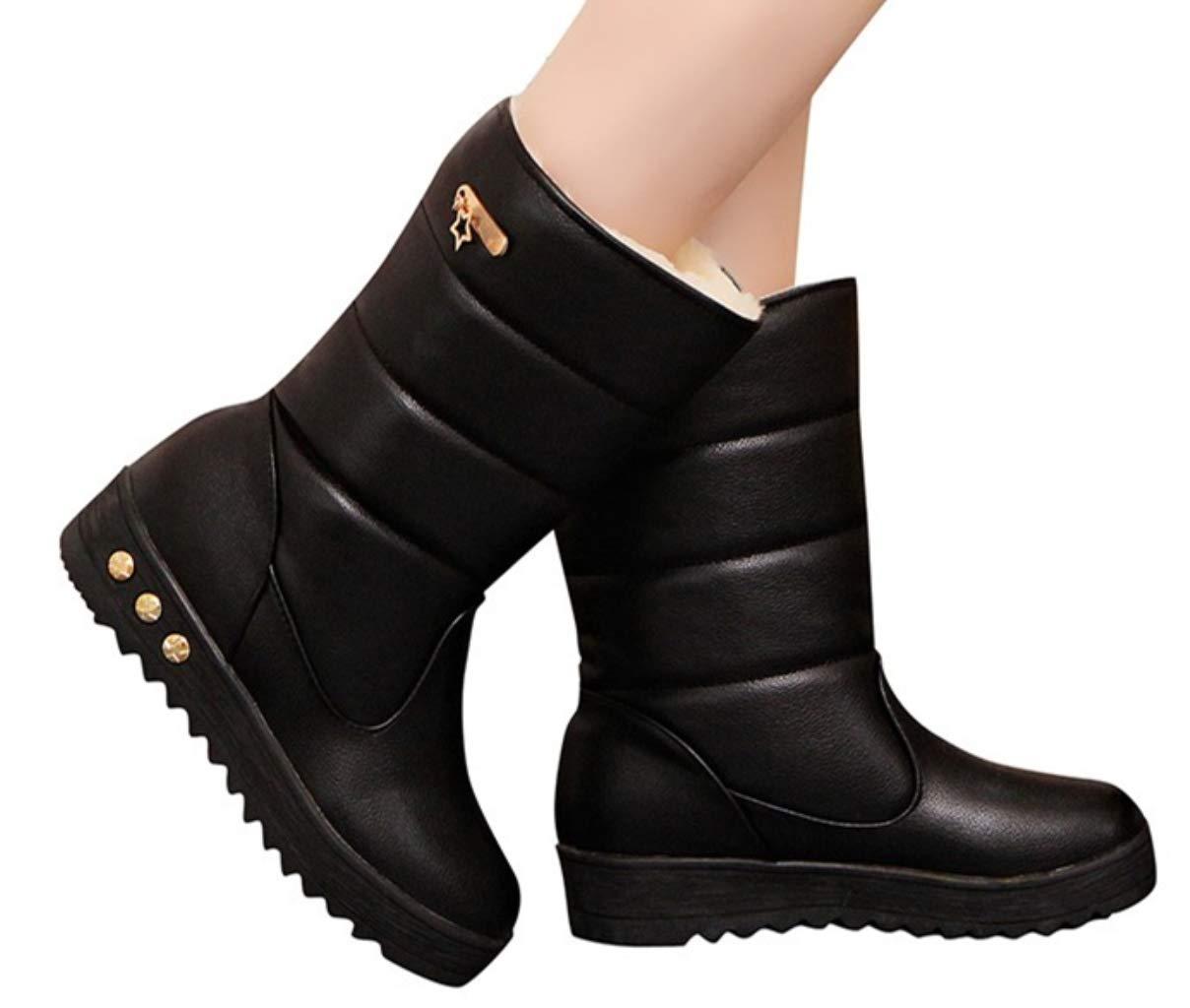193ec95a9 ایگرد - خرید از آمازون | Hemlock Waterproof Snow Boots Women PU ...