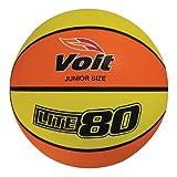Voit Lite 80 Junior Basketball, Yellow/Orange, 27.5'