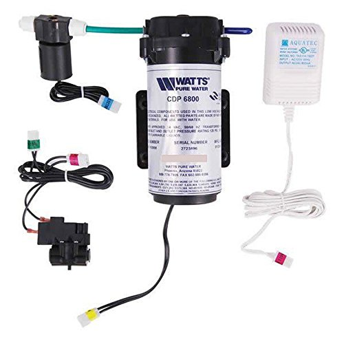 Watts Premier 501026 ZeroWaste Reverse Osmosis Retrofit Kit, Easy to (Watts Hot Water Pump)