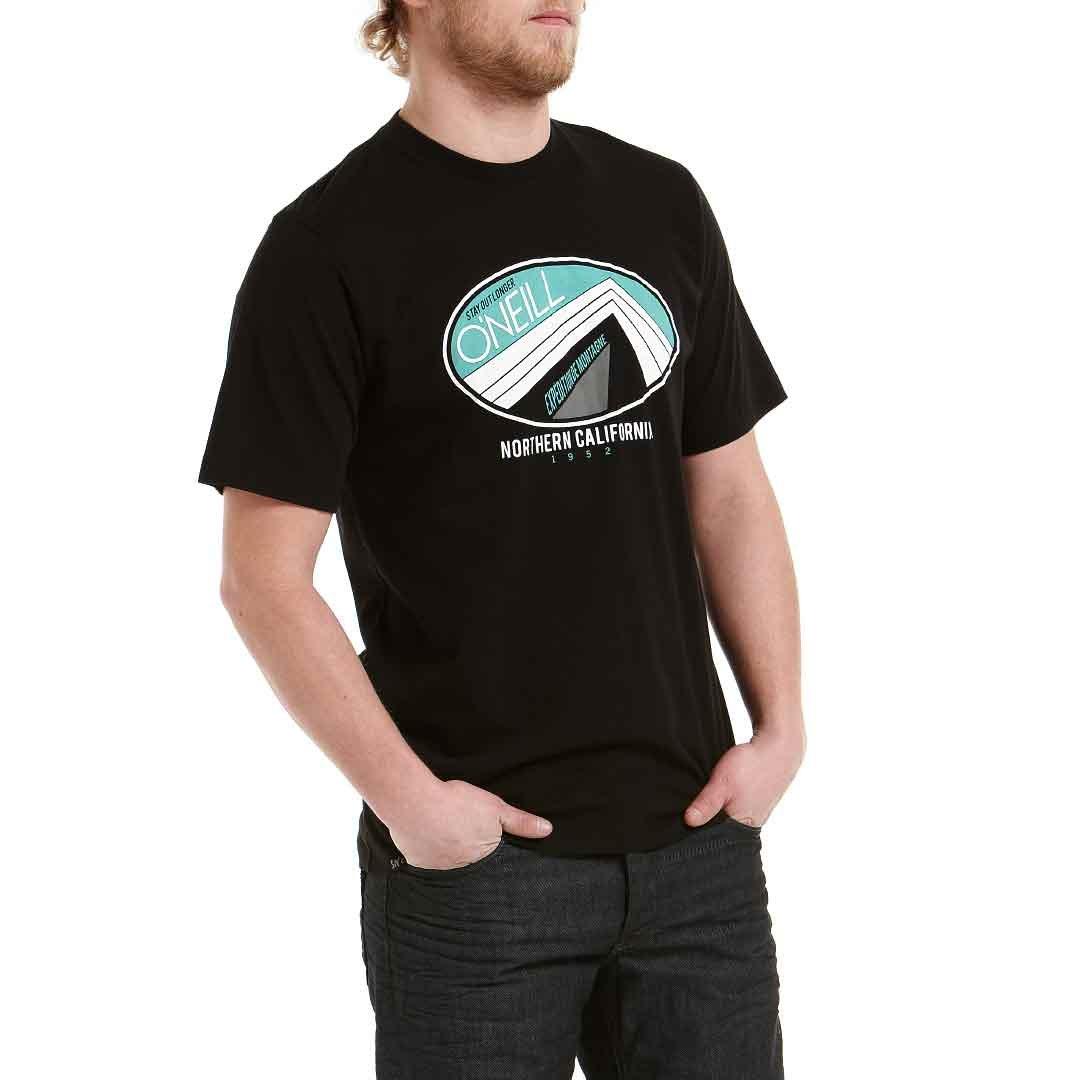 O'Neill  - Camiseta de running para hombre, tamaño tamaño hombre, L, color negro 01eb8f