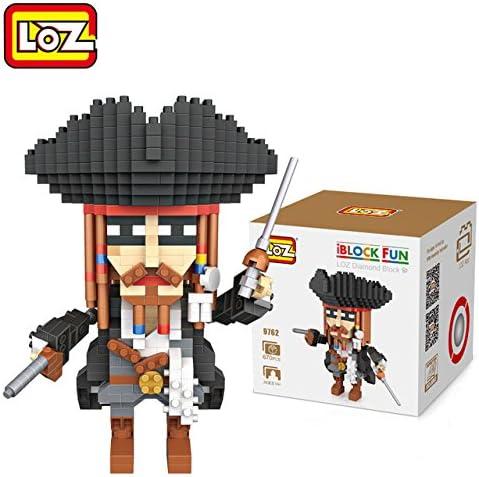PERSONAJE LOZ JACK SPARROW 670 PIEZAS: Amazon.es: Juguetes y juegos