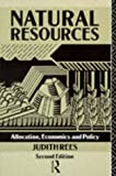 Natural Resources, Judith Rees, 0415051037