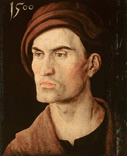 kunst für alle Art Print/Poster: Albrecht Dürer Bildnis eines Jungen Mannes Picture, Fine Art Poster, 31.5x39.4 inch / 80x100 cm