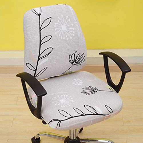 - SGHOME Chair Cover Convenience Removable Universal Spandex Fabric Split Anti-Dirty Office Computer Stretch Seat Case