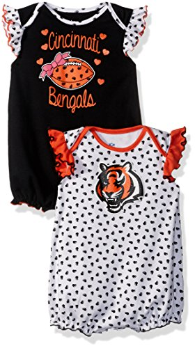 Cincinnati Bengals Newborn Creeper - OuterStuff NFL Newborn
