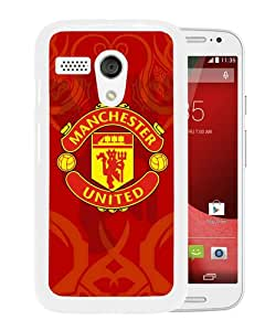 Unique And Durable Custom Designed Case For Motorola Moto G With Manchester United 6 White Phone Case