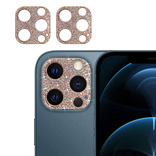 Bling Crystal Camera Protector Compatible with iPhone 12