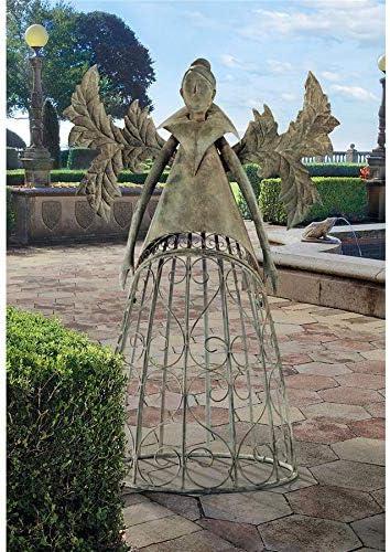 Design Toscano Tempest The Metal Garden Trellis Fairy