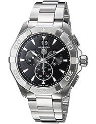 Tag Heuer Aquaracer 300M Chronograph 43mm Black Mens Watch CAY1110.BA0927