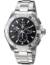 Aquaracer 300M Chronograph 43mm Black Mens Watch CAY1110.BA0927