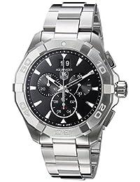 Tag Heuer Aquaracer Chronograph Black Dial Steel Mens Watch CAY1110.BA0927