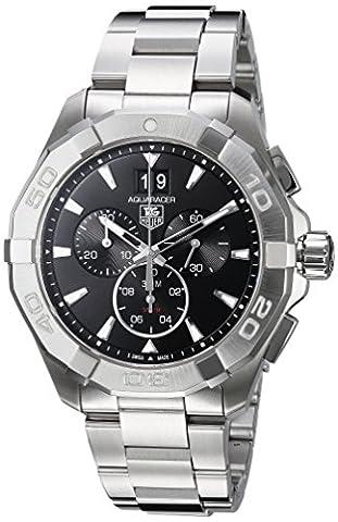 Tag Heuer Aquaracer 300M Chronograph 43mm Black Men's Watch CAY1110.BA0927 (Bezel Tag Heuer)