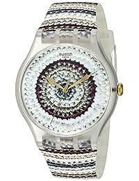 Swatch Unisex SUOK114 Analog Display Quartz Multi-Color Watch