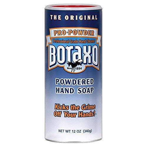 (Boraxo 00301 Heavy Duty Powdered Hand Soap, 12 oz (Case of 12))