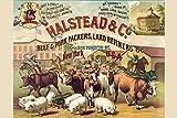 Buyenlarge Halstead & Co. Beef & Pork Packers, Lard