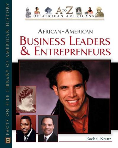Books : African-American Business Leaders and Entrepreneurs (A to Z of African Americans)