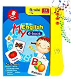 ABC Sound Book For Children / English Letters & Words Learning Book, Fun Educational Toy. Learning Activities for Letters, Words, Numbers, Shapes, Colors and Animals for Toddlers
