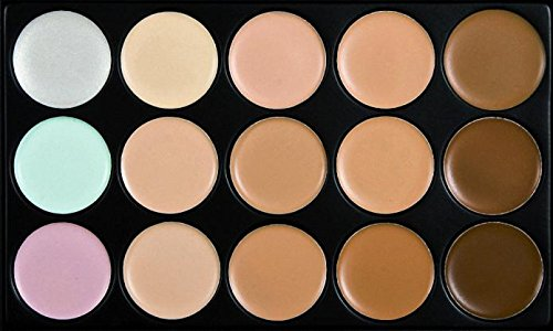 Start 15 Colors Concealer Eye shadow palette kit &Makeup Toothbrush Curve Brush