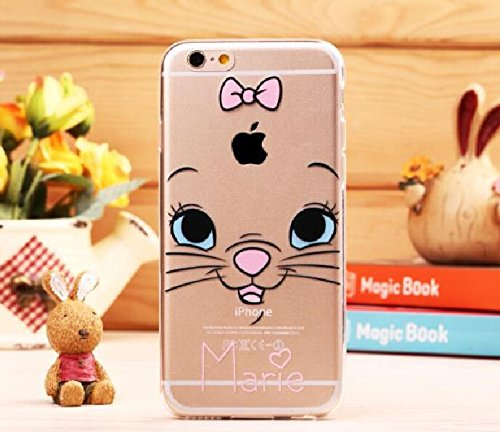 Fashion Cute Cartoon Apple iPhone 6 Case (4.7 inches) Soft TPU Ultra Thin Back Cover
