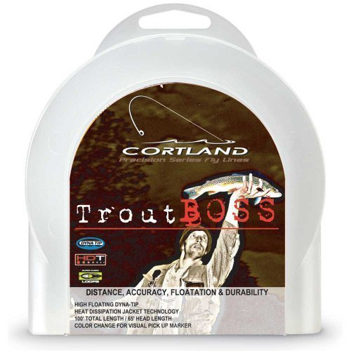 Cortland Precision Trout Boss Fly Line Size: WF5F Cortland Trout Rod