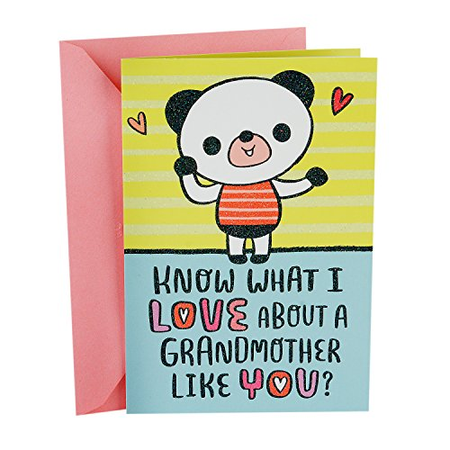 Hallmark Pop Up Mother's Day Card for Grandmother from Child (Love Everything About ()