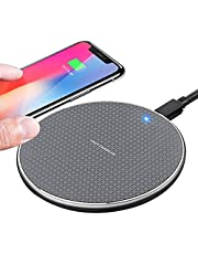 TIANYI Wireless charger,10W phone Wireless Charging Pad 2020 Upgraded version ,Compatible with iphone 11/11 Pro/11 Pro Max/XS Max/XR/XS/X/8/8+, 10W Fast Charger for Galaxy Note 10/Note 10 Plus /S10/S10+/S10E/Note 9/S9/Note 8